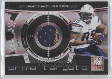 2008 Donruss Elite Prime Targets Jerseys Prime [Memorabilia] #PT-15 - Antonio Gates /50