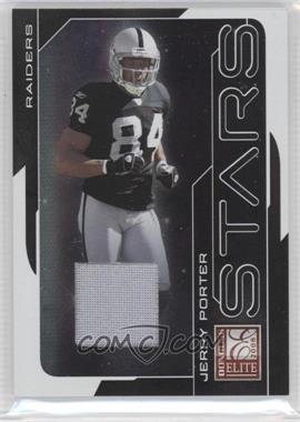 2008 Donruss Elite Stars Black Jerseys Prime [Memorabilia] #S-14 - Jerry Porter /50