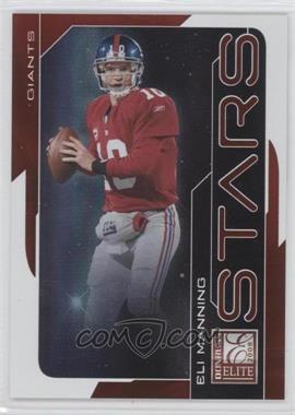 2008 Donruss Elite Stars Red #S-8 - Eli Manning /800