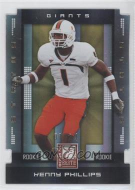 2008 Donruss Elite Status Gold Die-Cut #200 - Kenny Phillips /24