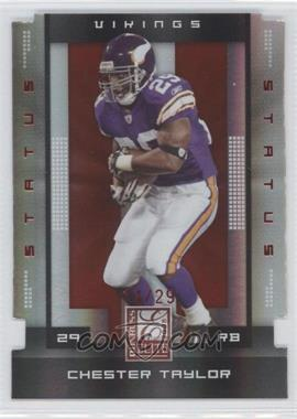 2008 Donruss Elite Status #55 - Chester Taylor /29