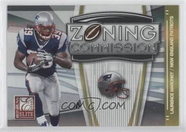 2008 Donruss Elite Zoning Commission Gold #ZC-14 - Laurence Maroney /800