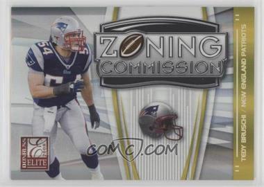 2008 Donruss Elite Zoning Commission Gold #ZC-15 - Tedy Bruschi /800