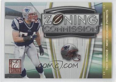 2008 Donruss Elite Zoning Commission Gold #ZC-15 - Tedy Bruschi /800