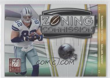 2008 Donruss Elite Zoning Commission Gold #ZC-24 - Jason Witten /800