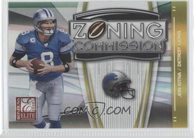 2008 Donruss Elite Zoning Commission Gold #ZC-27 - Jon Kitna /800