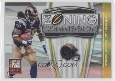 2008 Donruss Elite Zoning Commission Gold #ZC-36 - Steven Jackson /800