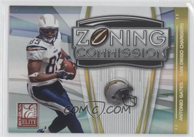 2008 Donruss Elite Zoning Commission Gold #ZC-40 - Antonio Gates /800