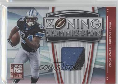 2008 Donruss Elite Zoning Commission Jereys Prime [Memorabilia] #ZC-16 - Kevin Jones /50
