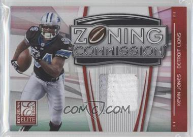 2008 Donruss Elite Zoning Commission Jereys Prime [Memorabilia] #ZC-16 - Kevin Jones /50