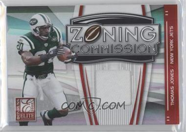 2008 Donruss Elite Zoning Commission Jereys Prime [Memorabilia] #ZC-21 - Thomas Jones /50