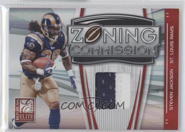 2008 Donruss Elite Zoning Commission Jereys Prime [Memorabilia] #ZC-36 - Steven Jackson /50
