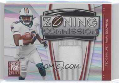 2008 Donruss Elite Zoning Commission Jerseys Prime [Memorabilia] #ZC-5 - Ted Ginn Jr. /50