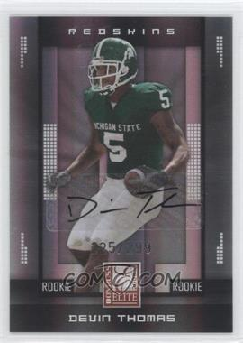 2008 Donruss Elite #154 - Devin Thomas /299