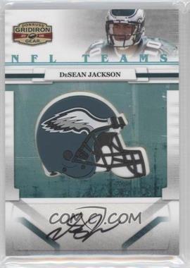 2008 Donruss Gridiron Gear NFL Team Rookie Signatures #NFLT-35 - DeSean Jackson /30