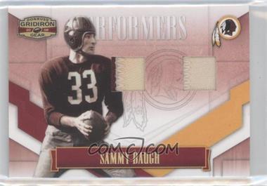 2008 Donruss Gridiron Gear Performers Combos Jerseys Prime [Memorabilia] #P-41 - Sammy Baugh /5