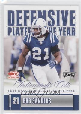 2008 Donruss Playoff Award Winners #DPOY-BS - Bob Sanders