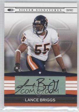 2008 Donruss Silver Signatures #SS-LB - Lance Briggs