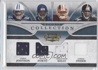 Matt Forte, Limas Sweed, Chris Johnson, Malcolm Kelly /100