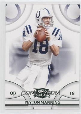 2008 Donruss Threads - [Base] - Green Century Proof #56 - Peyton Manning /200