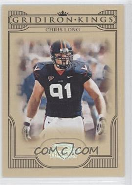 2008 Donruss Threads - College Gridiron Kings - Silver #CGK-7 - Chris Long /250