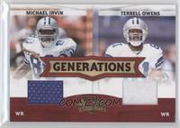 Michael Irvin, Terrell Owens /250