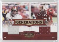 Frank Gore, Roger Craig /250