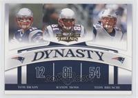 Tom Brady, Randy Moss, Tedy Bruschi
