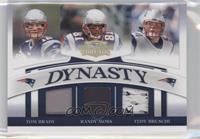 Tom Brady, Randy Moss, Tedy Bruschi #44/50