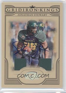 2008 Donruss Threads College Gridiron Kings Signature Materials [Autographed] #CGK-44 - Jonathan Stewart /30