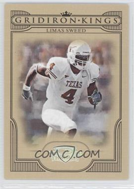 2008 Donruss Threads College Gridiron Kings Silver #CGK-25 - Limas Sweed /250