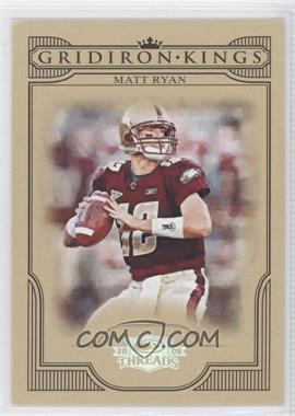 2008 Donruss Threads College Gridiron Kings Silver #CGK-27 - Matt Ryan /250
