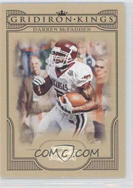 2008 Donruss Threads College Gridiron Kings Silver #CGK-40 - Darren McFadden /250