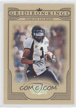 2008 Donruss Threads College Gridiron Kings Silver #CGK-41 - DeSean Jackson /250