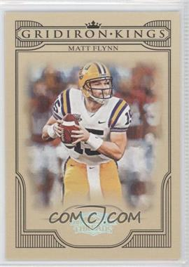 2008 Donruss Threads College Gridiron Kings Silver #CGK-47 - Matt Flynn /250