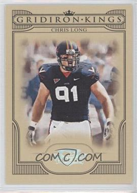 2008 Donruss Threads College Gridiron Kings Silver #CGK-7 - Chris Long /250