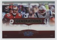 Jerry Rice, Randy Moss /100