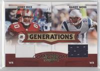 Jerry Rice, Randy Moss /250