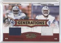 Terrell Owens, Michael Irvin /250
