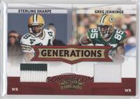 Sterling Sharpe, Greg Jennings /250