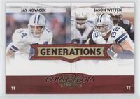 Jay Novacek, Jason Witten