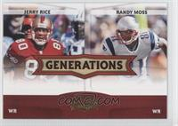 Jerry Rice, Randy Moss