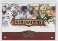 Brett Favre, Dan Marino