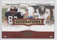 Santonio Holmes, John Stallworth