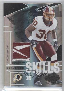 2008 Leaf Certified Materials [???] #CS-4 - LaRon Landry /1