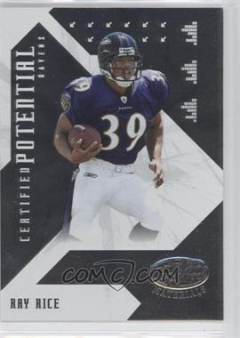 2008 Leaf Certified Materials Certified Potential #CP-7 - Ray Rice /1000
