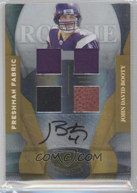 2008 Leaf Certified Materials Gold Mirror Signatures #207 - John David Booty /25