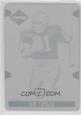 2008 Leaf Limited - [Base] - Printing Plate Cyan #144 - Jim Taylor /1