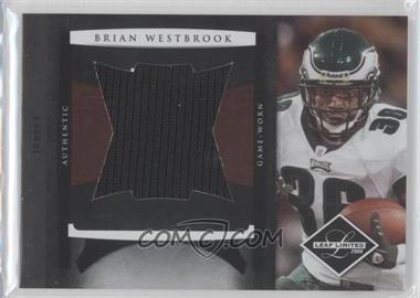 2008 Leaf Limited - Jumbo Jerseys #21 - Brian Westbrook /50