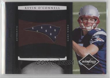 2008 Leaf Limited - Rookie Jumbo Jerseys - Team Logo #10 - Kevin O'Connell /50